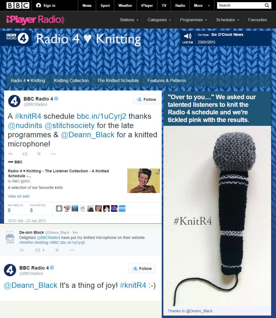 De-ann BBC Knitted Microphone2