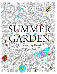 Autumn Garden Colouring Book Cover WEb