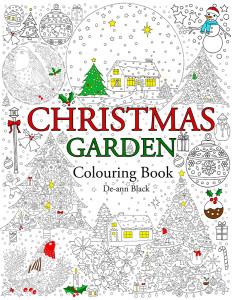 Christmas Garden Colouring Book Cover WEb