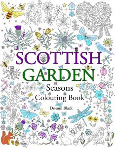 Scottish Garden Seasons, Colouring Book