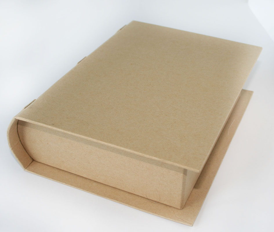 How To Make A Book Cover With Cardboard : Sewing box book « de ann black